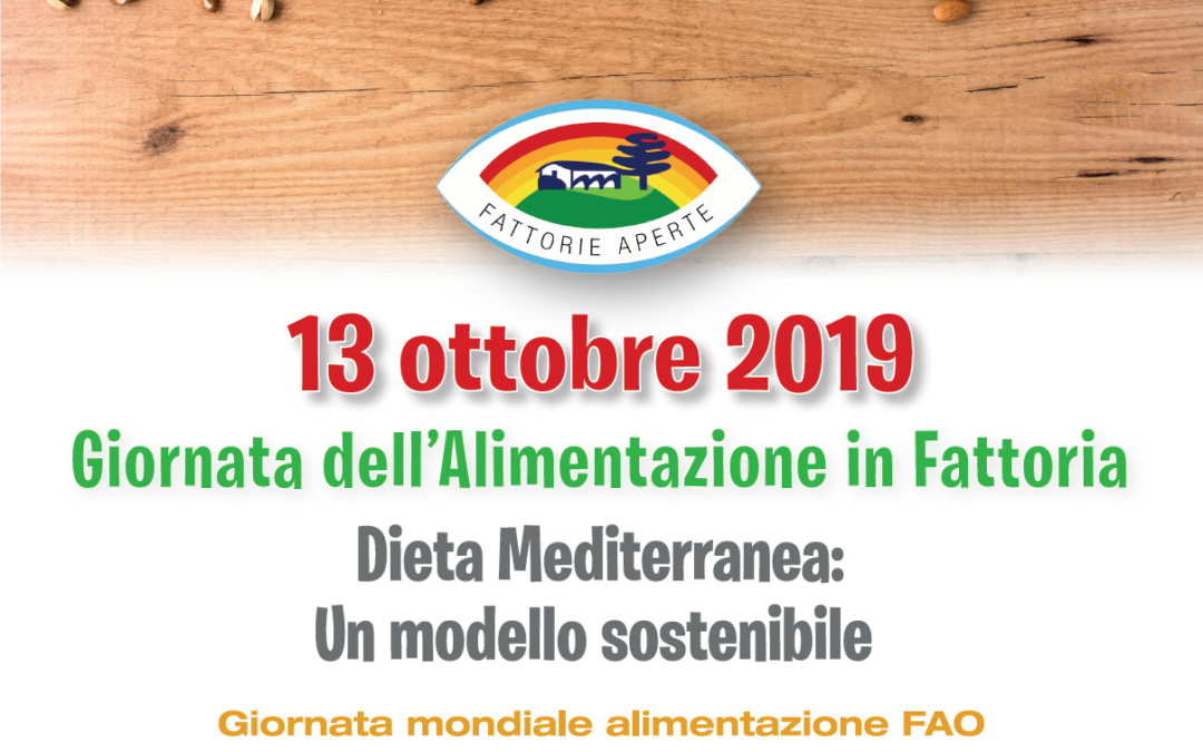 """Giornata dell'Alimentazione in Fattoria """"Dieta Mediterranea: un modello sostenibile"""""""