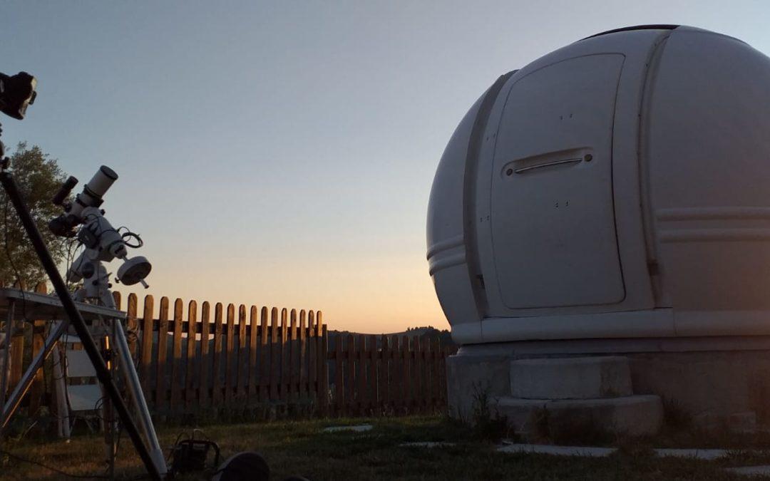 Osservazioni astronomiche a Ca' Poggio